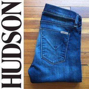 HUDSON Tilda Midrise Cigarette Denim Jeans